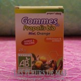 Gommes Propolis Bio Orange