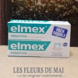 Elmex Sensitive 50ml lot de 2