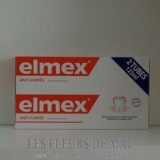 Elmex Protection caries lot de 2